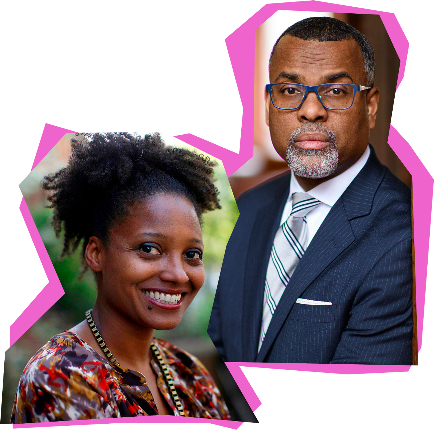 Tracy K. Smith, Chair of the Lewis Center for the Arts. Eddie S. Glaude, Chair of the African American Studies Department.