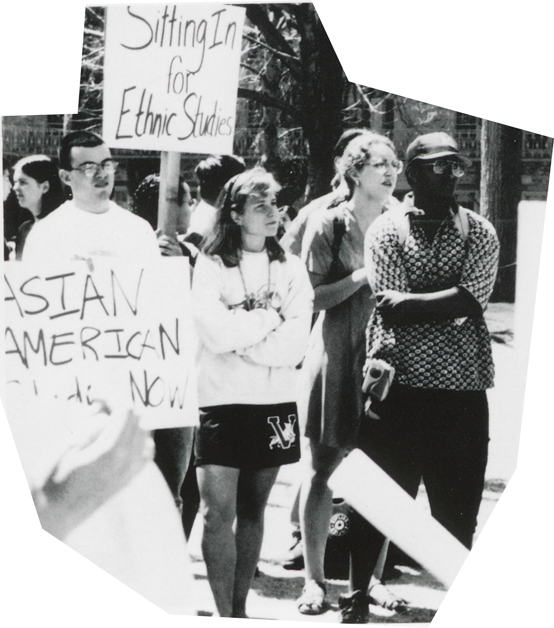 Princetonians engaging in activism over the years