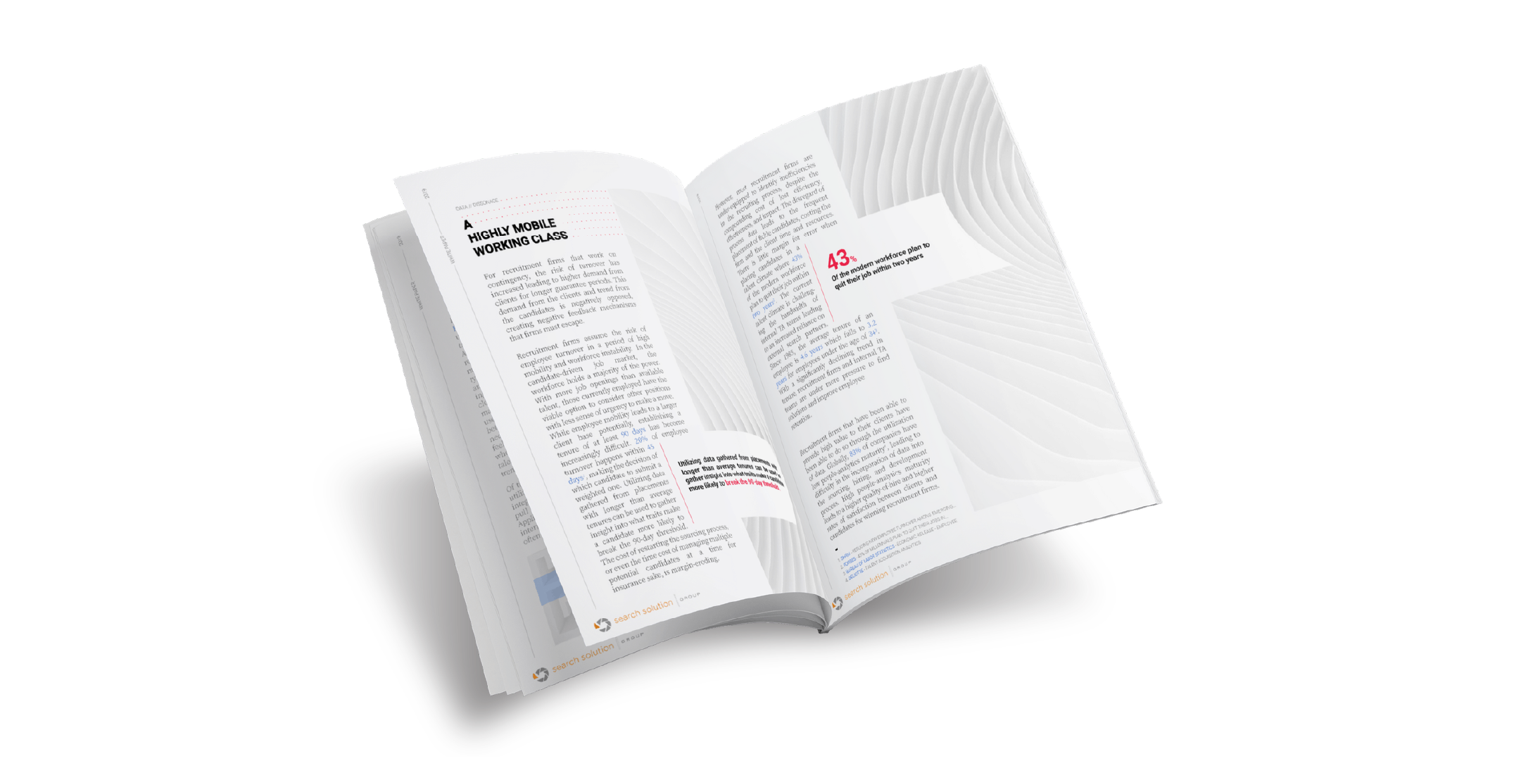 white paper written and designed for search solution group