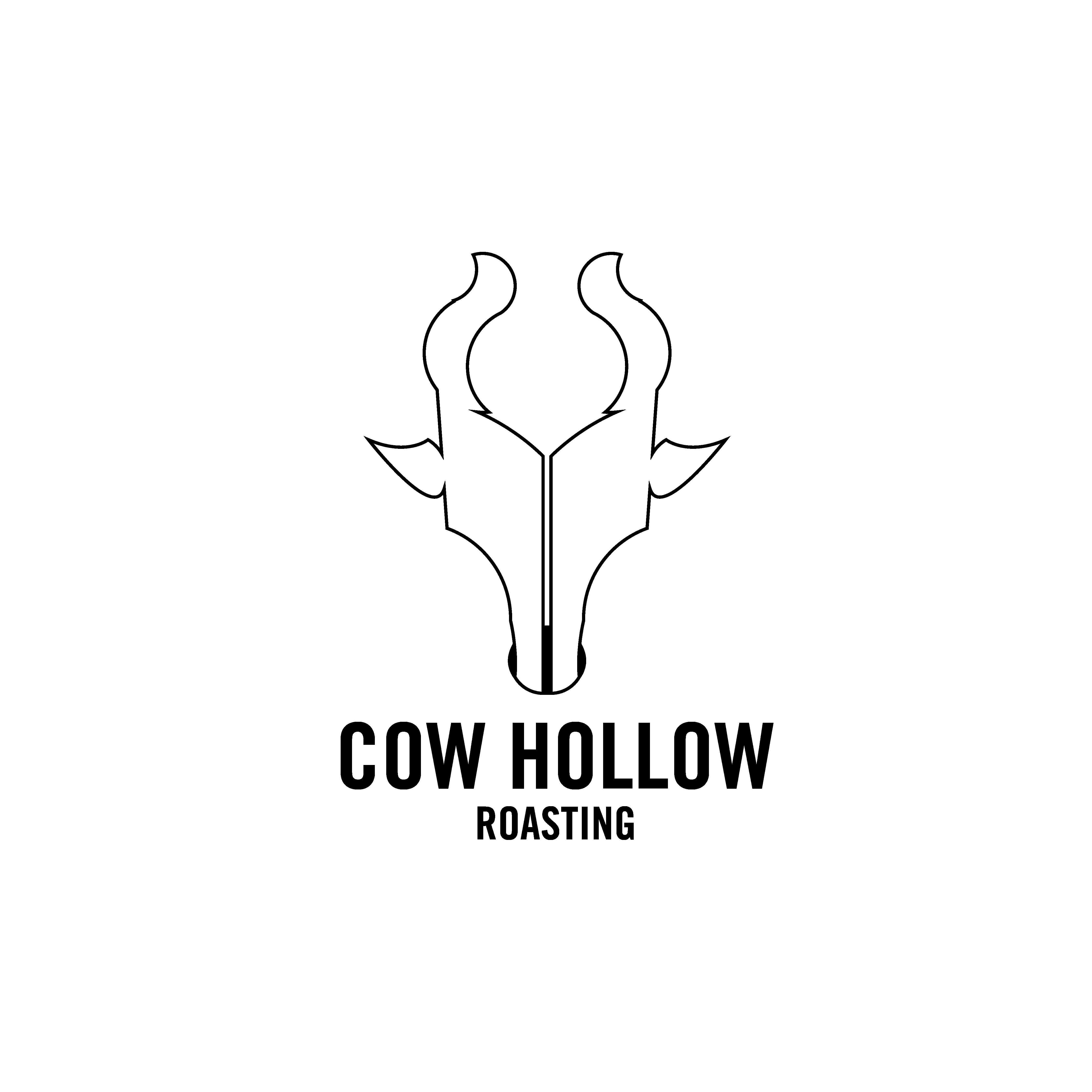 cow hollow creative logo design