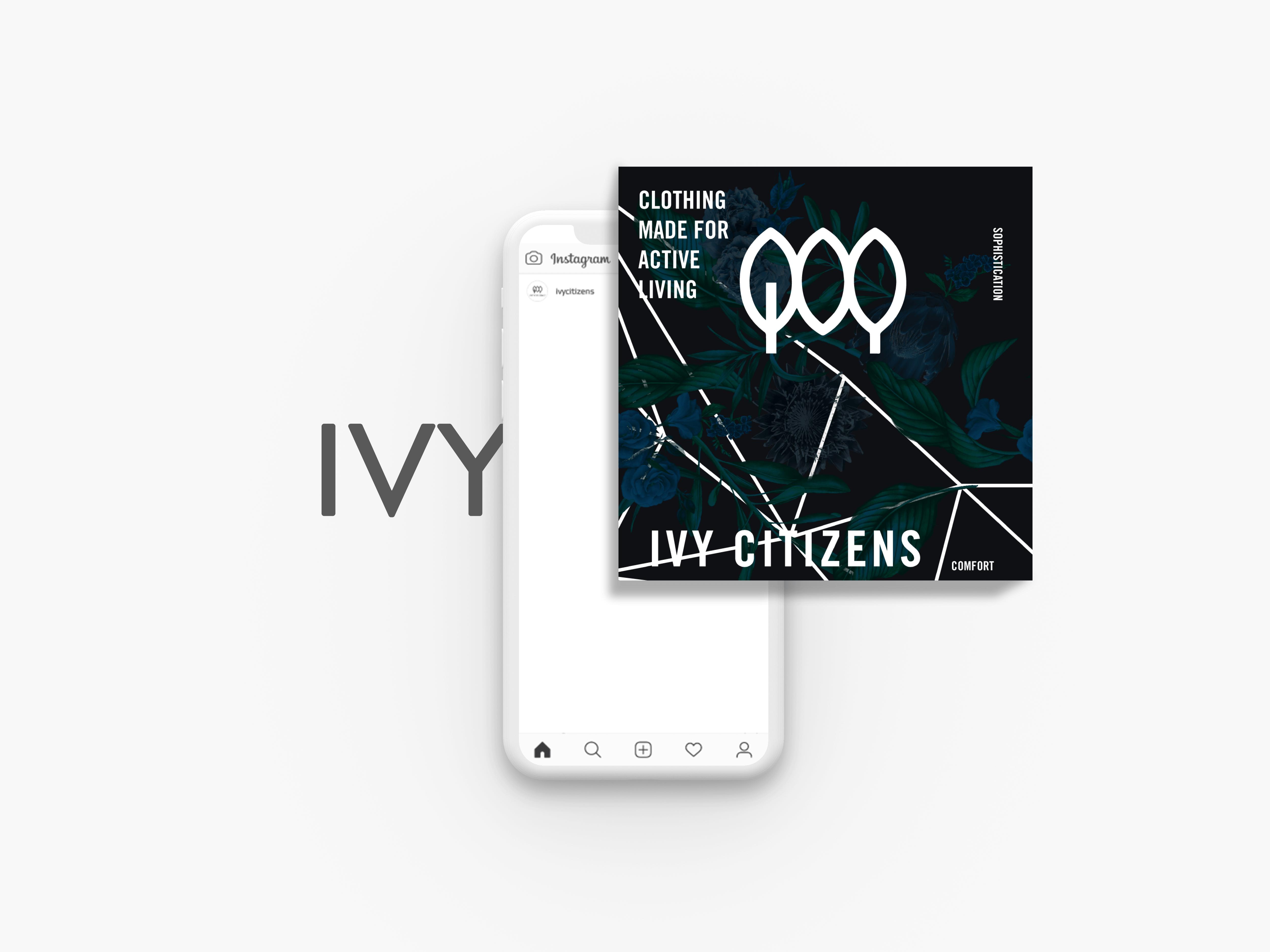 social media designs made for ivy citizens