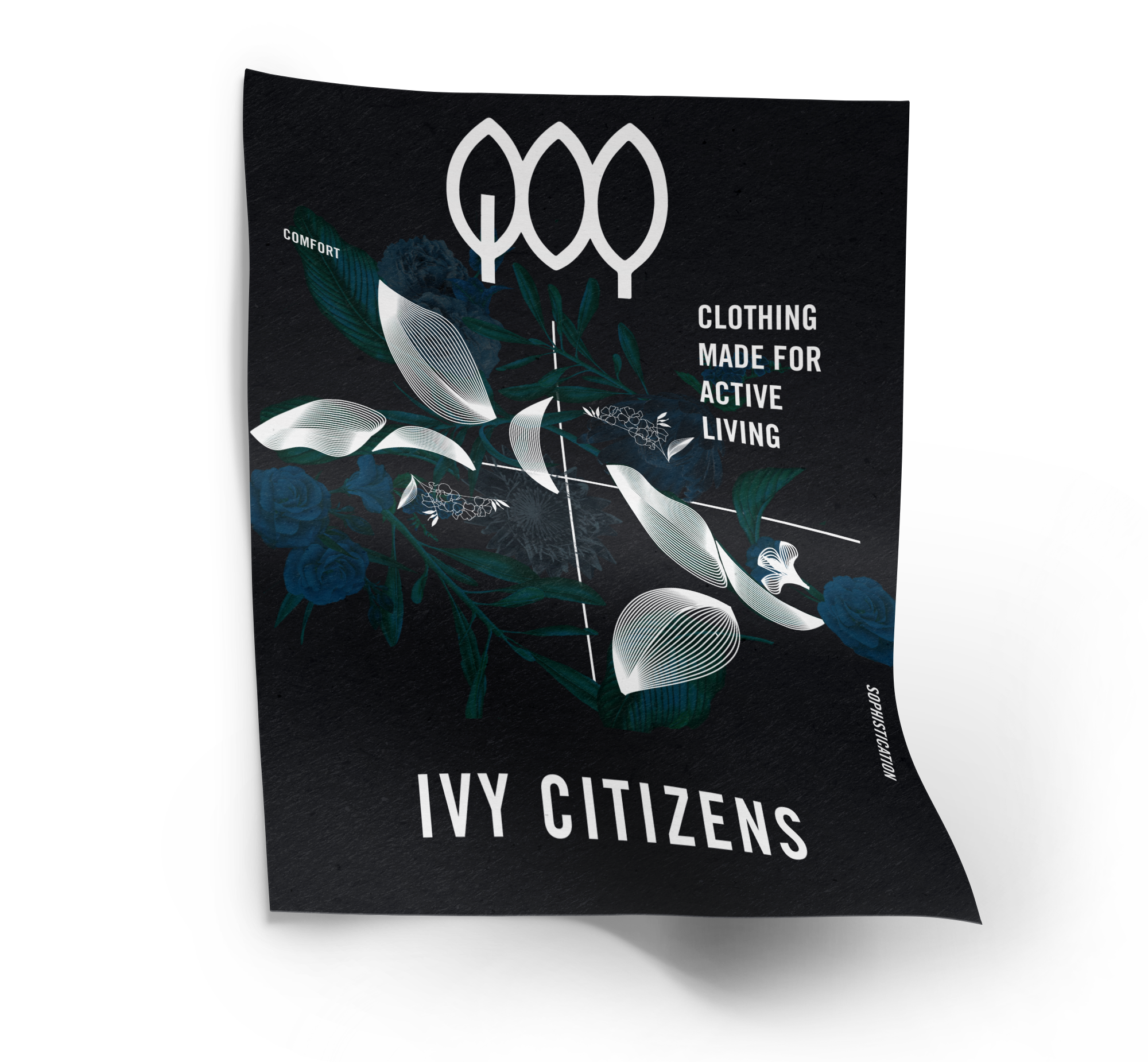 poster designed for ivy citizens by control advertising