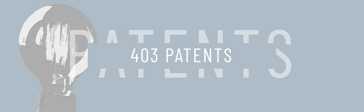 graphic stating spxflow has over 403 patents