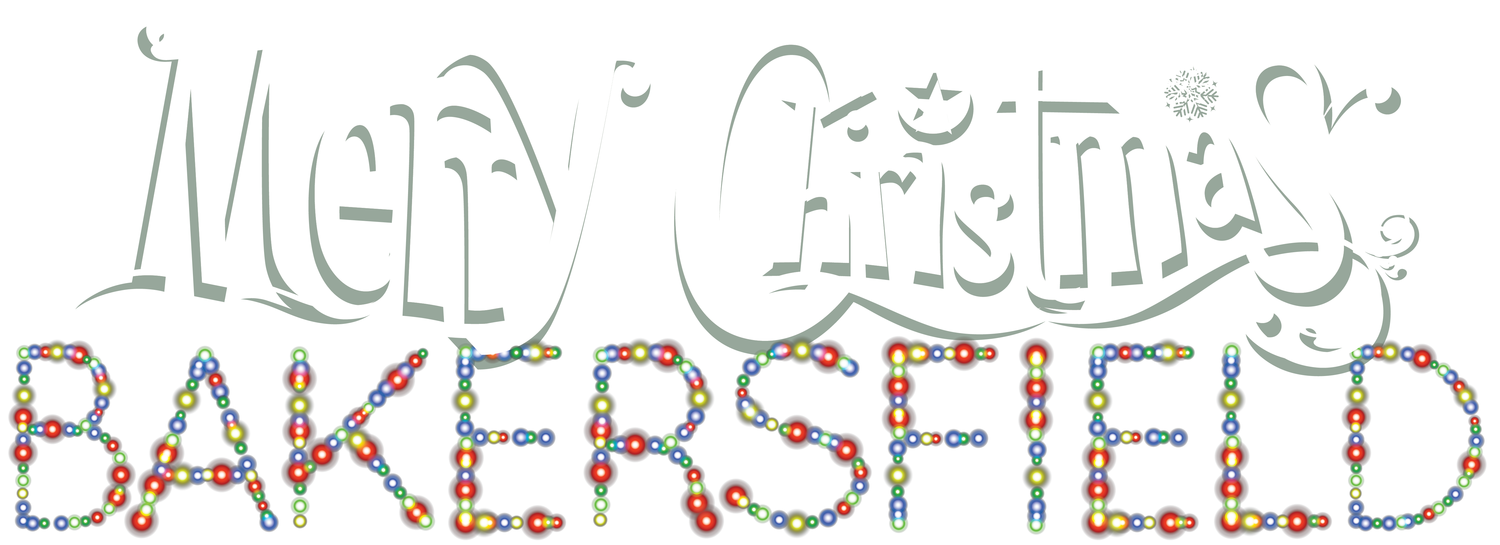 Merry Christmas Bakersfield Logo