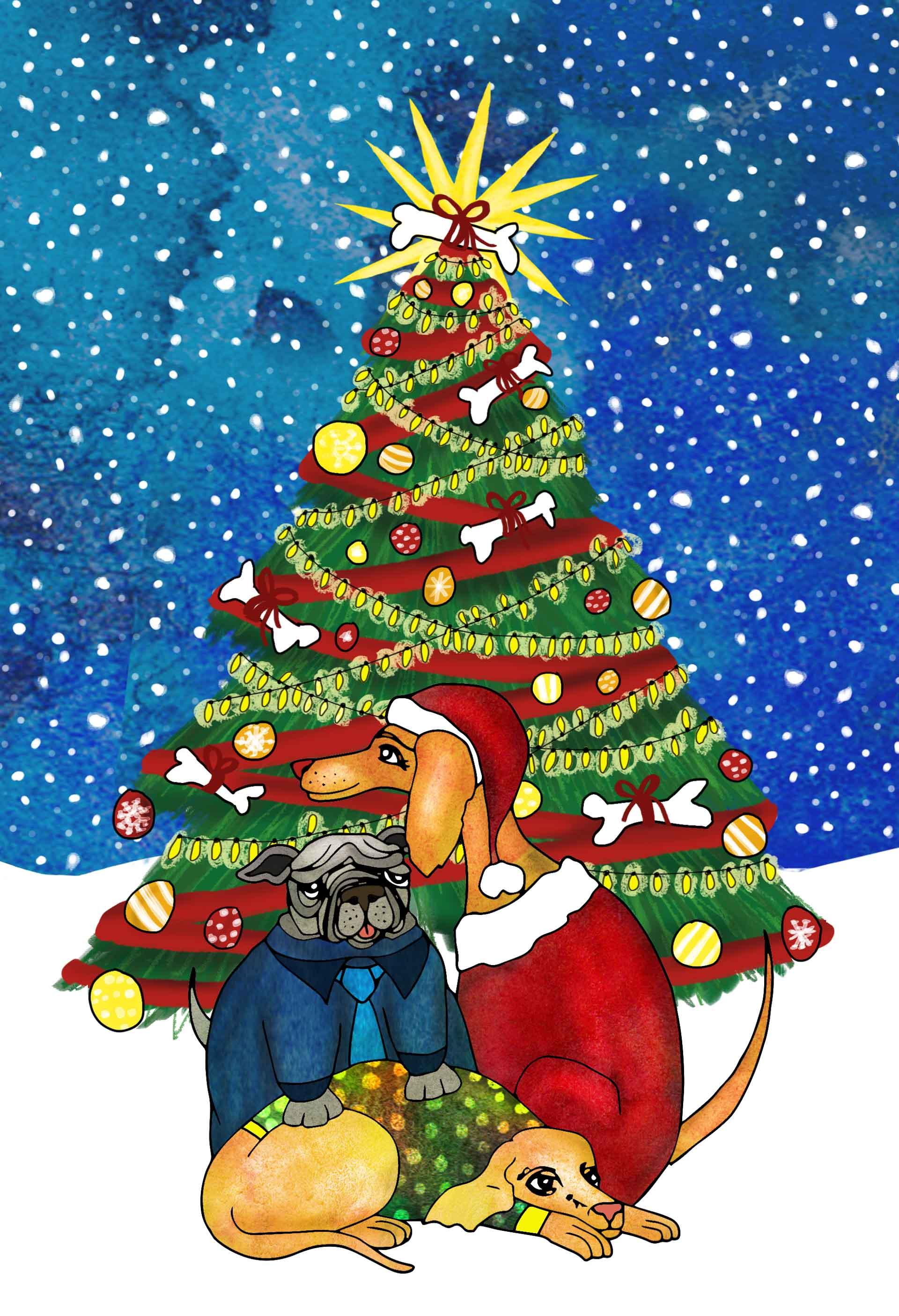 Kerst Honden