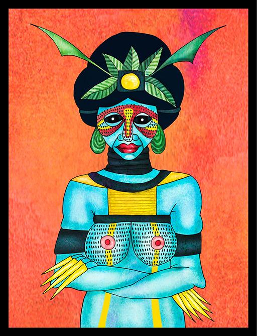 Papua portrait