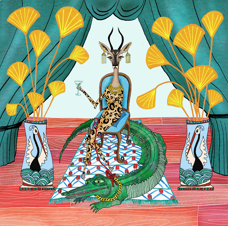 Diva gazelle