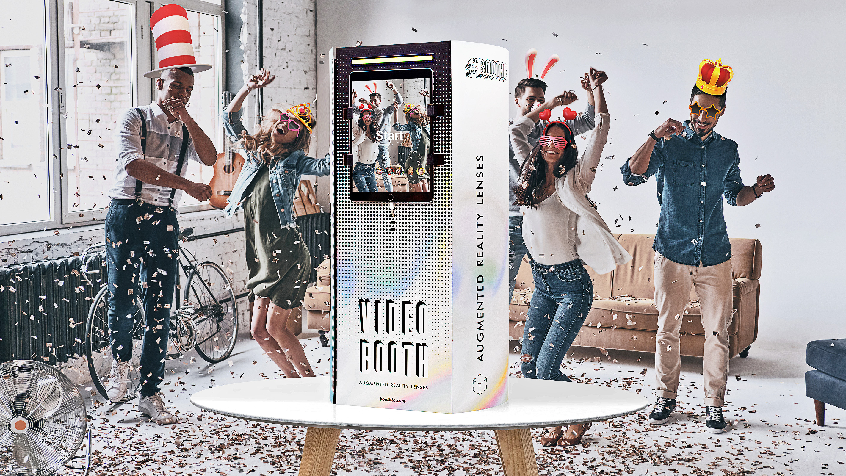 Boothic Photo Booth Kit 🔥 The party gadget 🔥 Do-It-Yourself Video Booth Kit