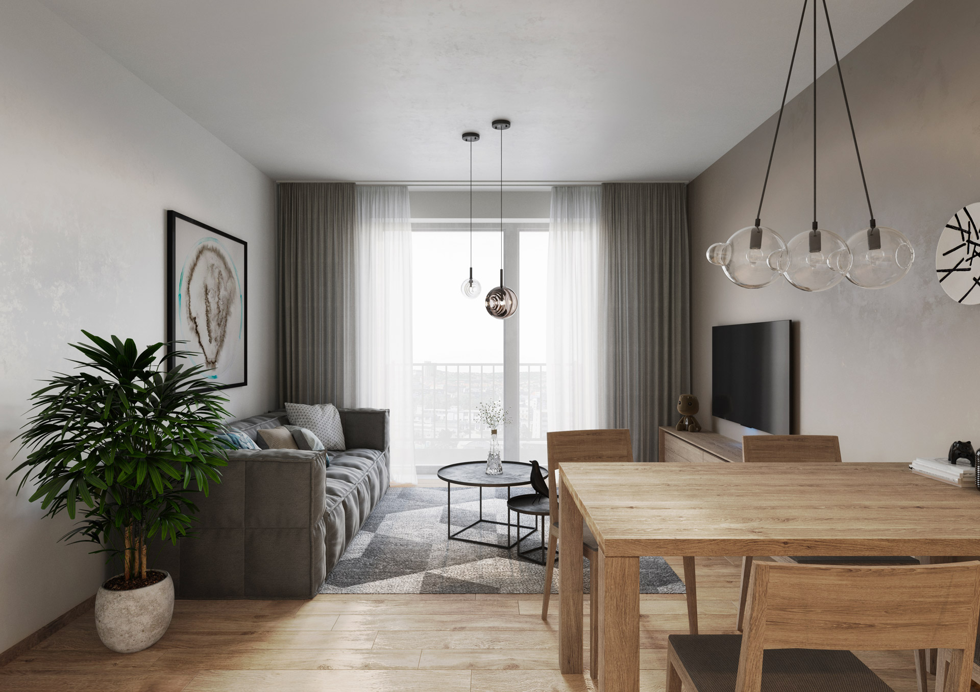 Dwellwio obývací pokoj