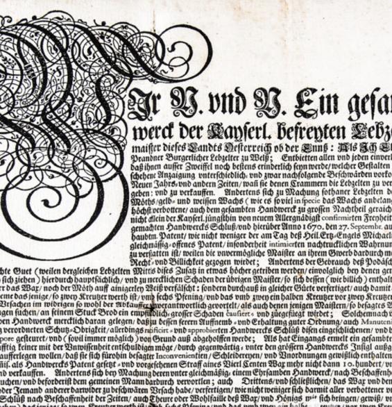 Original Urkunde, Café Wallner, St.Wolfgang