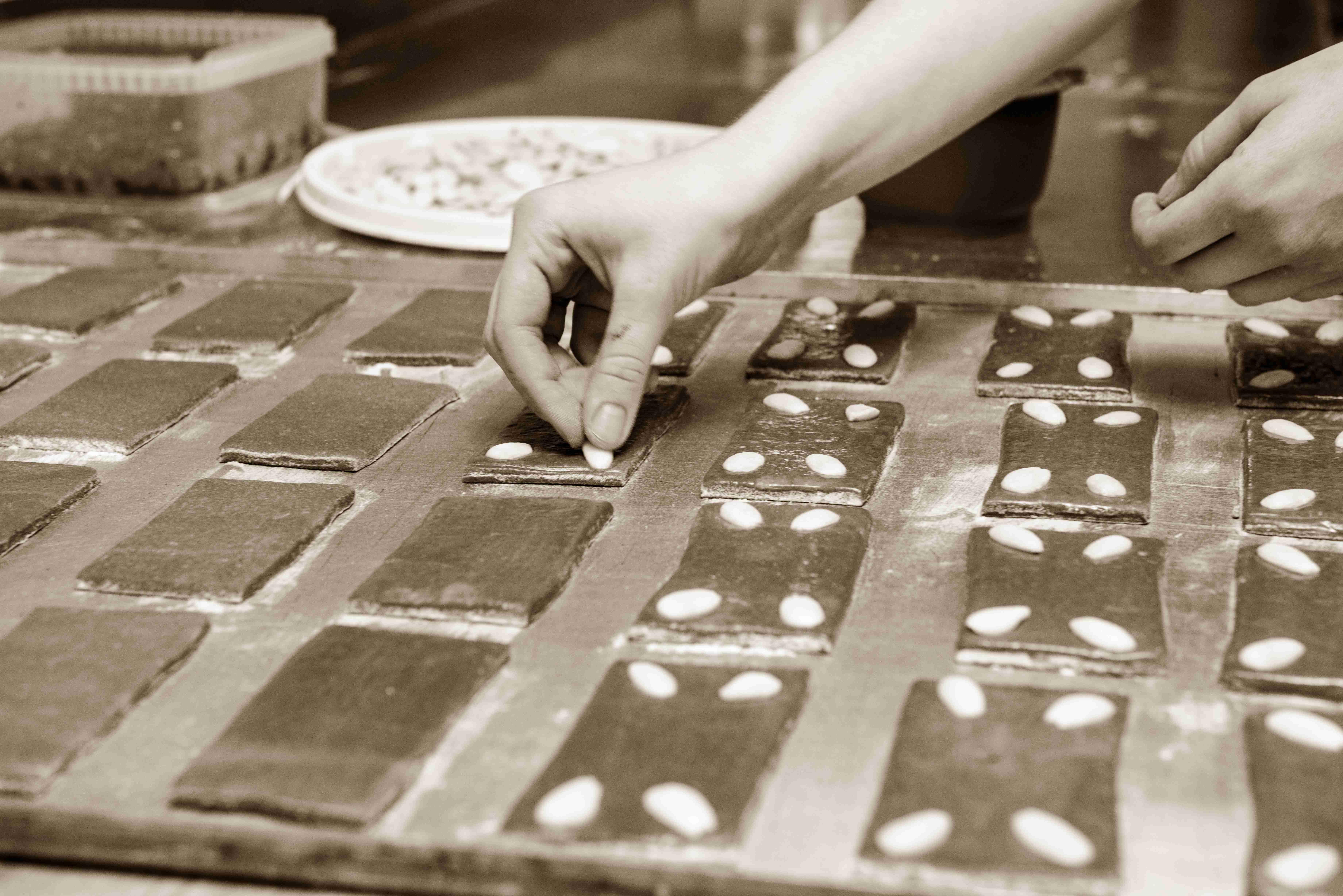 Lebkuchen selbst gestalten, Konditorei Wallner, St. Wolfgang