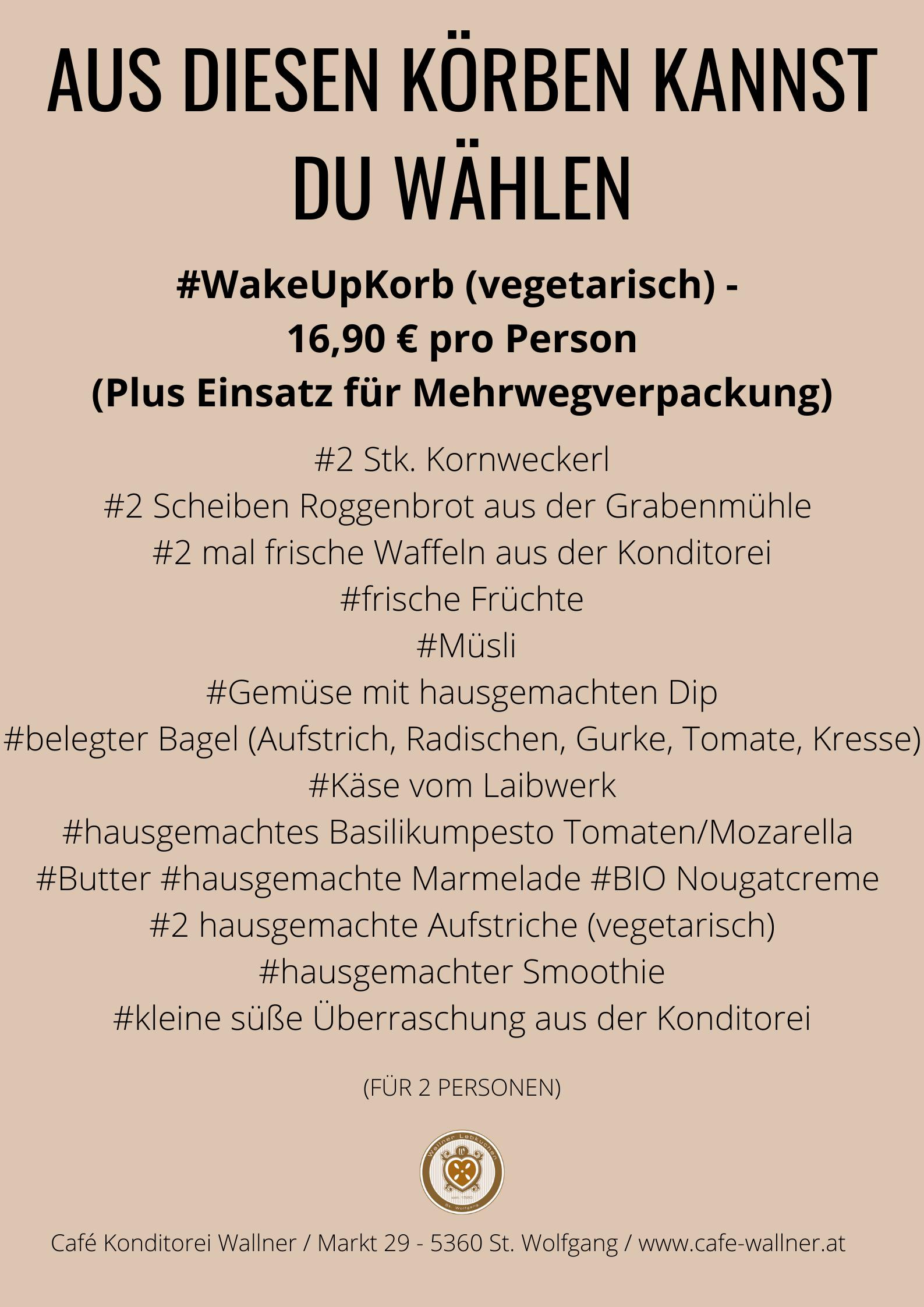 Omlette, Frühstück Konditorei Wallner, St.Wolfgang