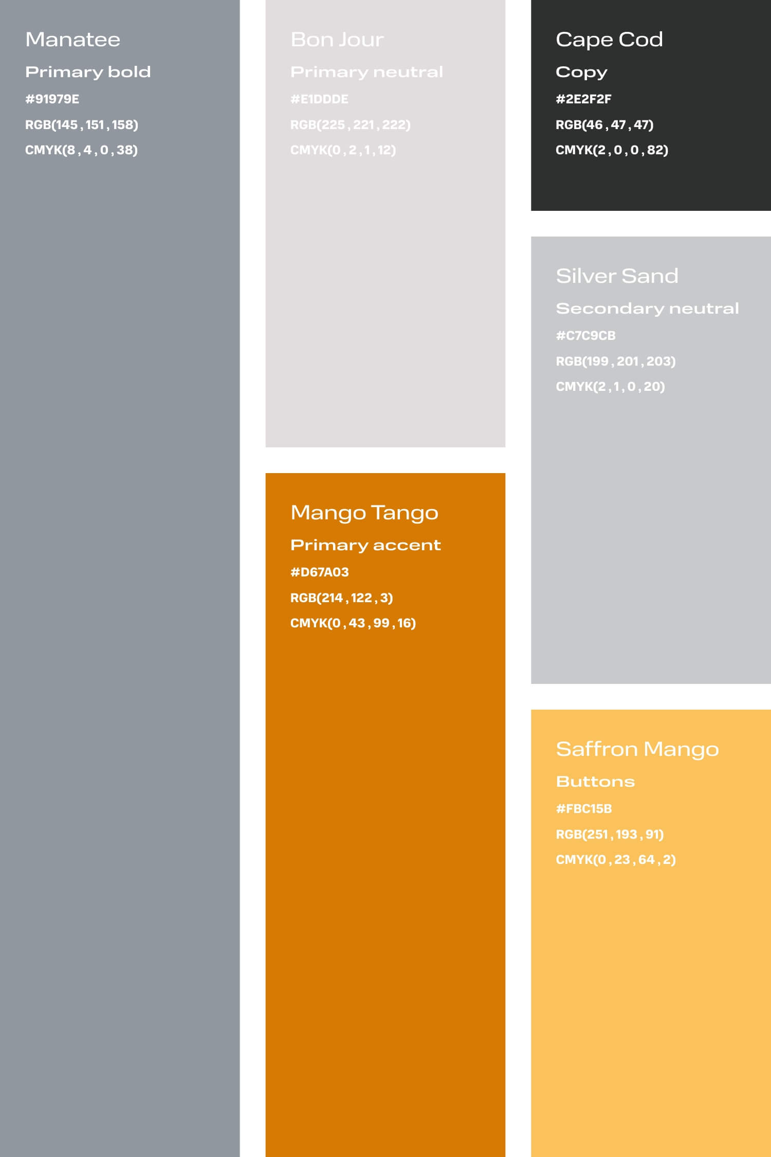 Periwinkle and orange colour palette for small creative business DIY branding
