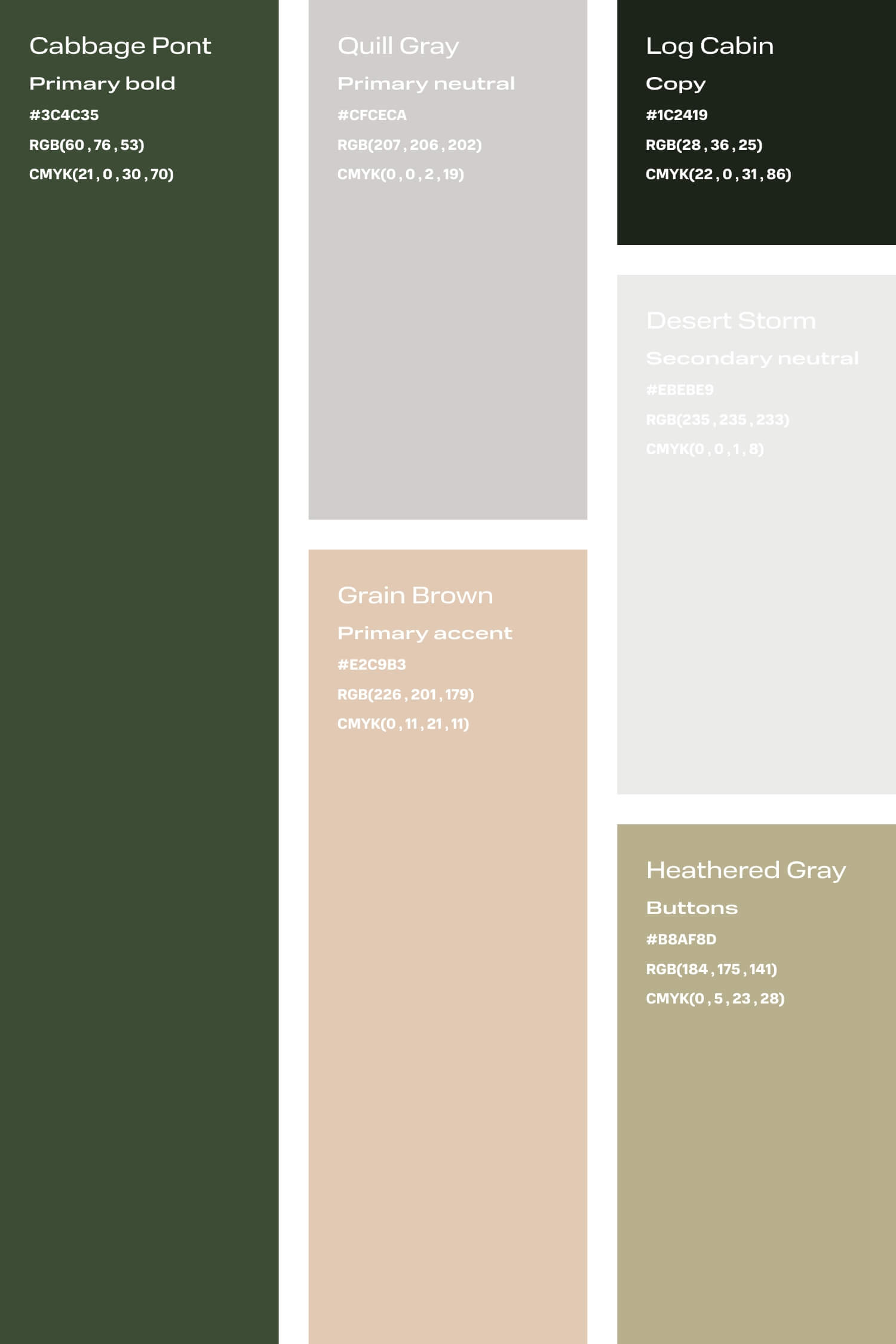 Green and nude colour palette for small creative business DIY branding