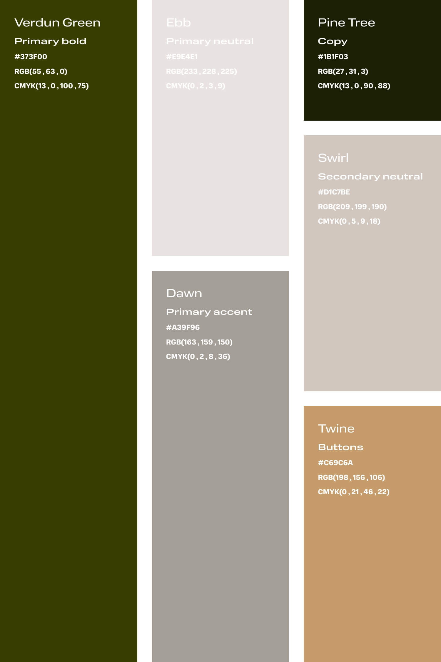 Green and grey colour palette for small creative business DIY branding