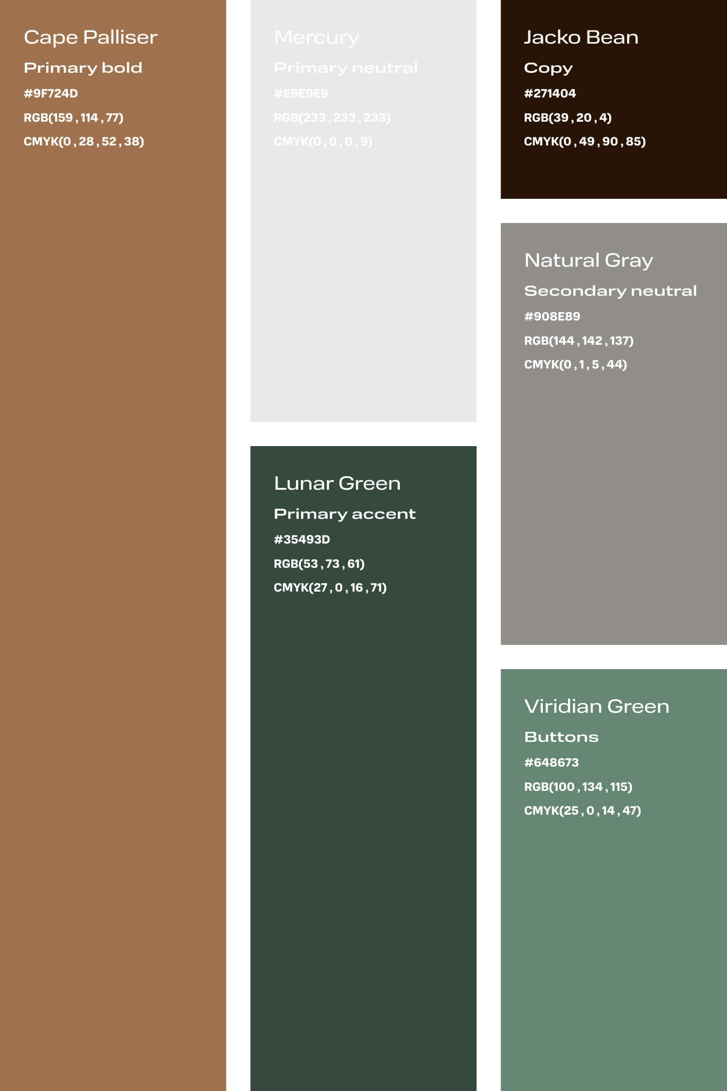 Tan and green colour palette for small creative business DIY branding