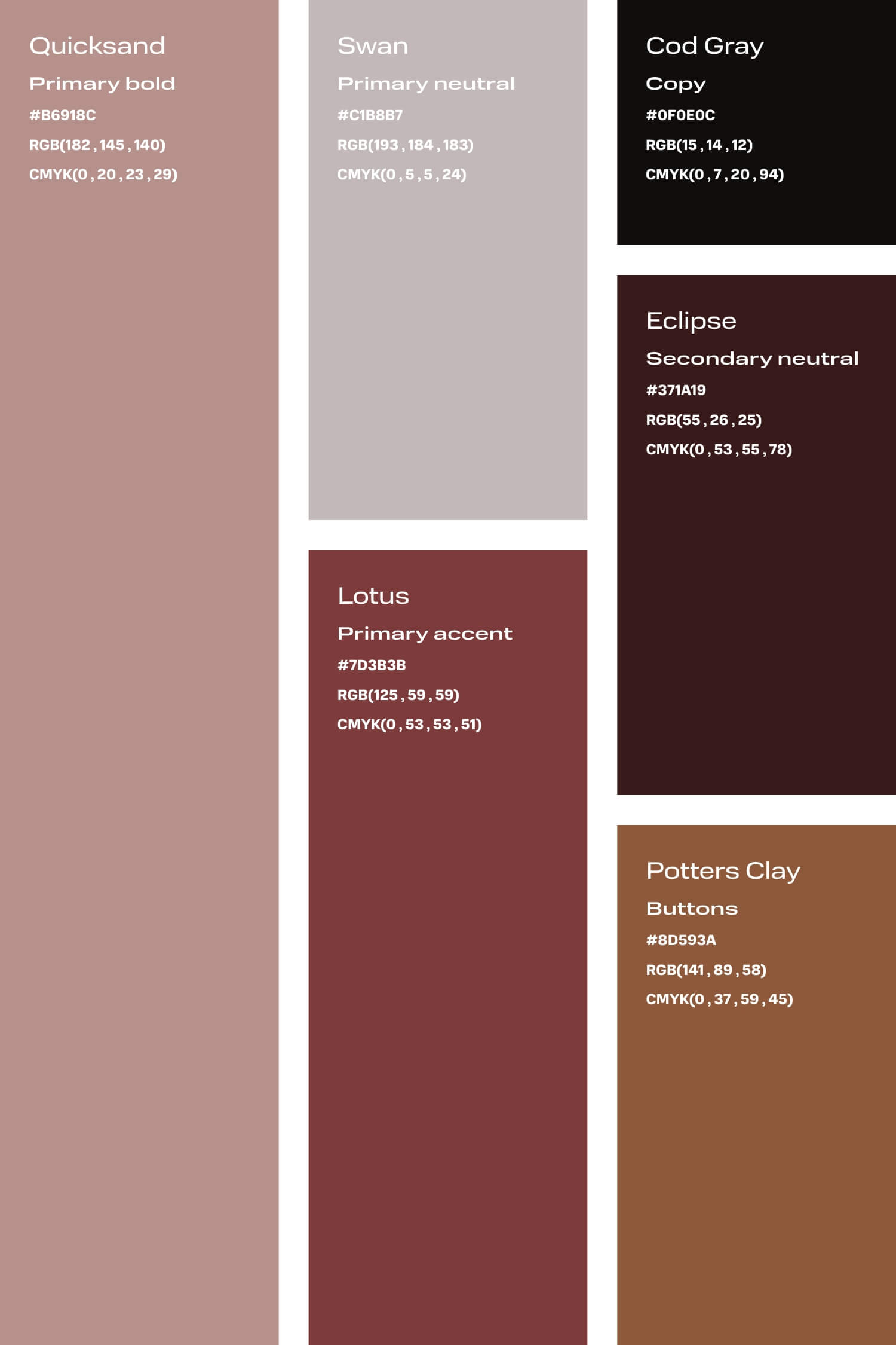 Rose and burgundy colour palette for small creative business DIY branding