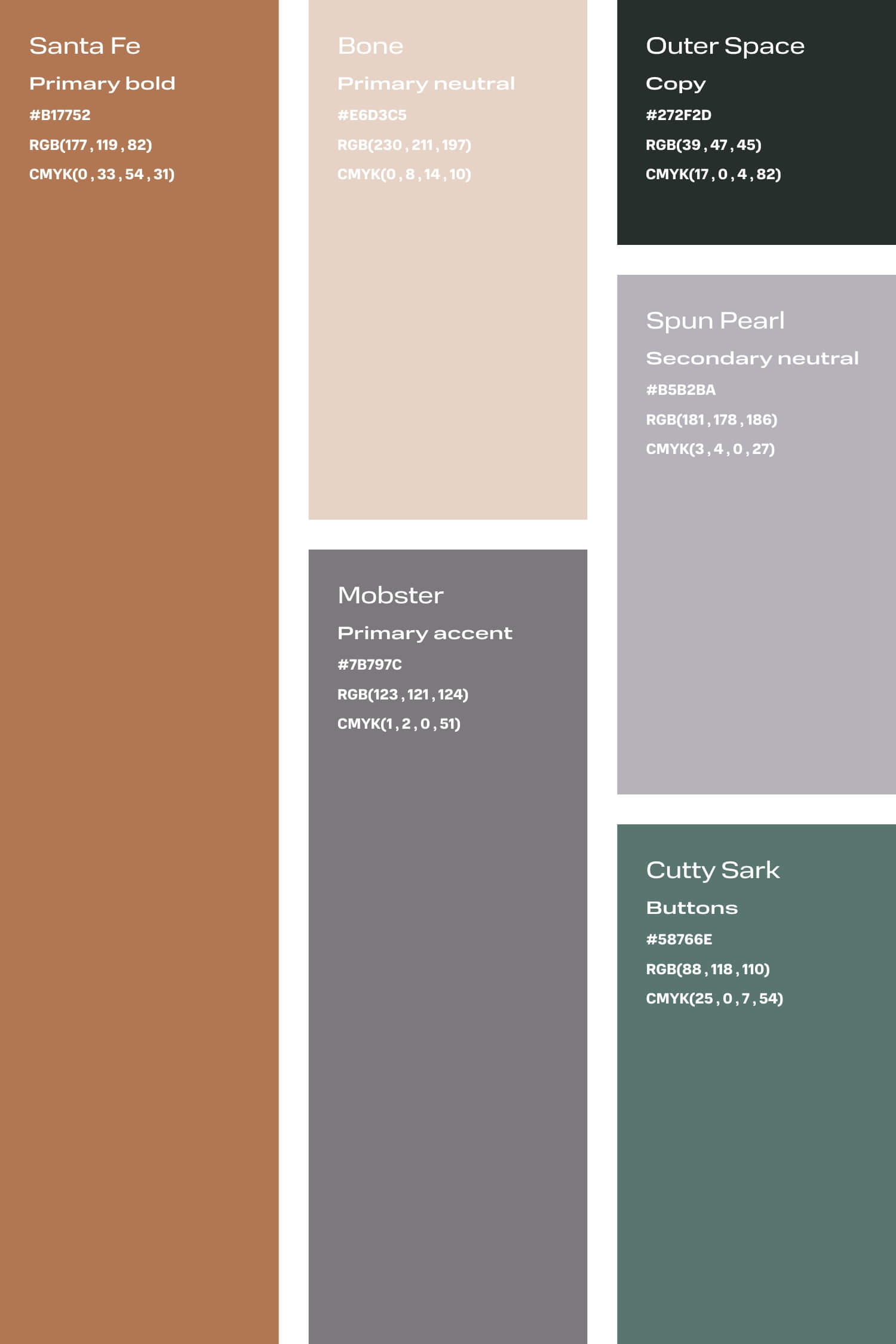 Tan and grey colour palette for small creative business DIY branding