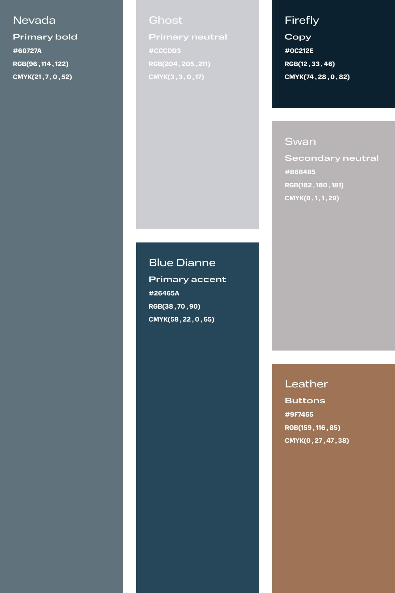 Blue and bronze colour palette for small creative business DIY branding