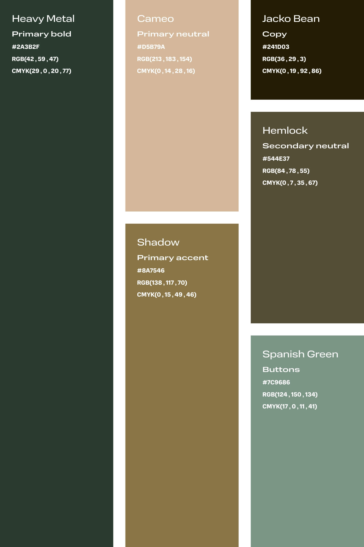 Green and peach colour palette for small creative business DIY branding
