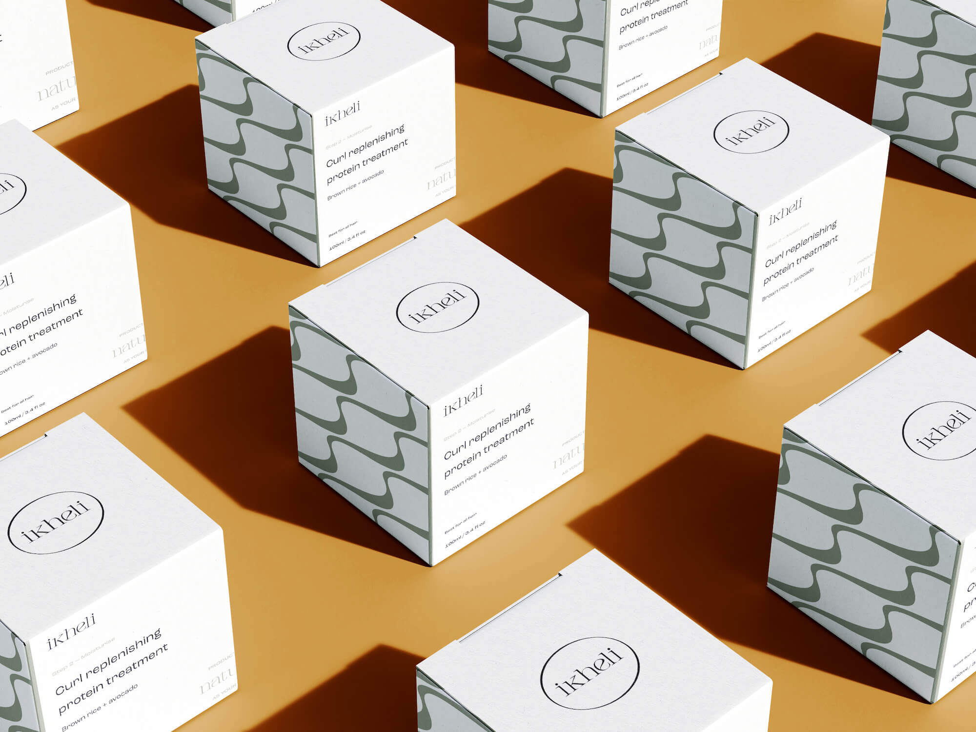 Product packaging use case for nature-inspired colour palette for small creative businesses