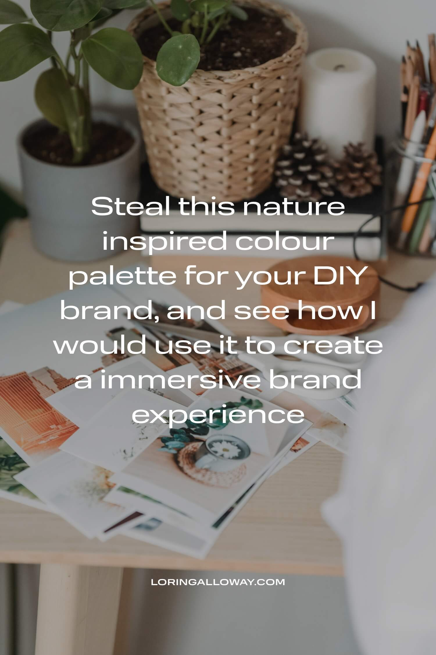 Download this free colour palettes for your small creative business DIY branding project