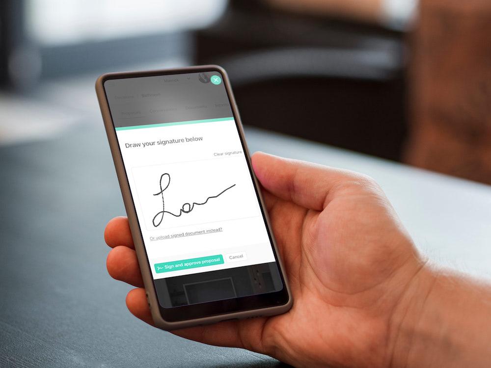 Digital signatures on the Ziggu Platform