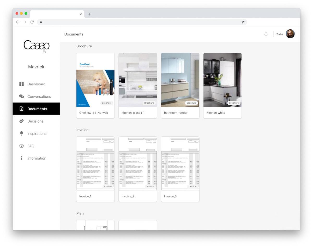 Document Platform Caaap