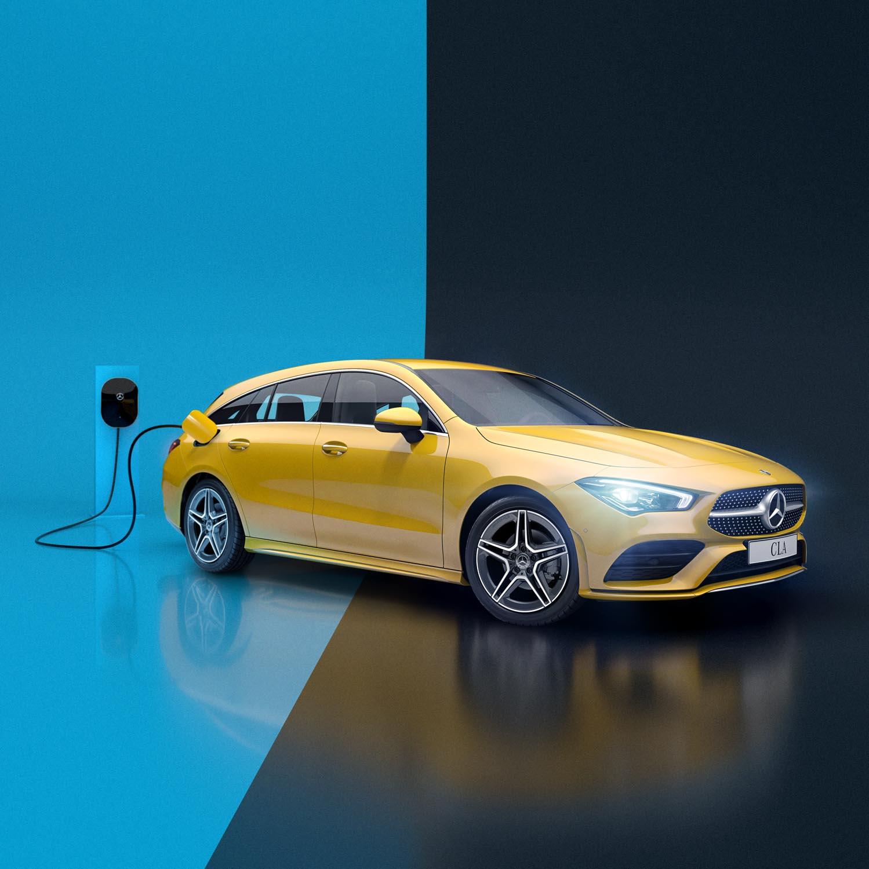 Mercedes EQC 3D-animasjoner
