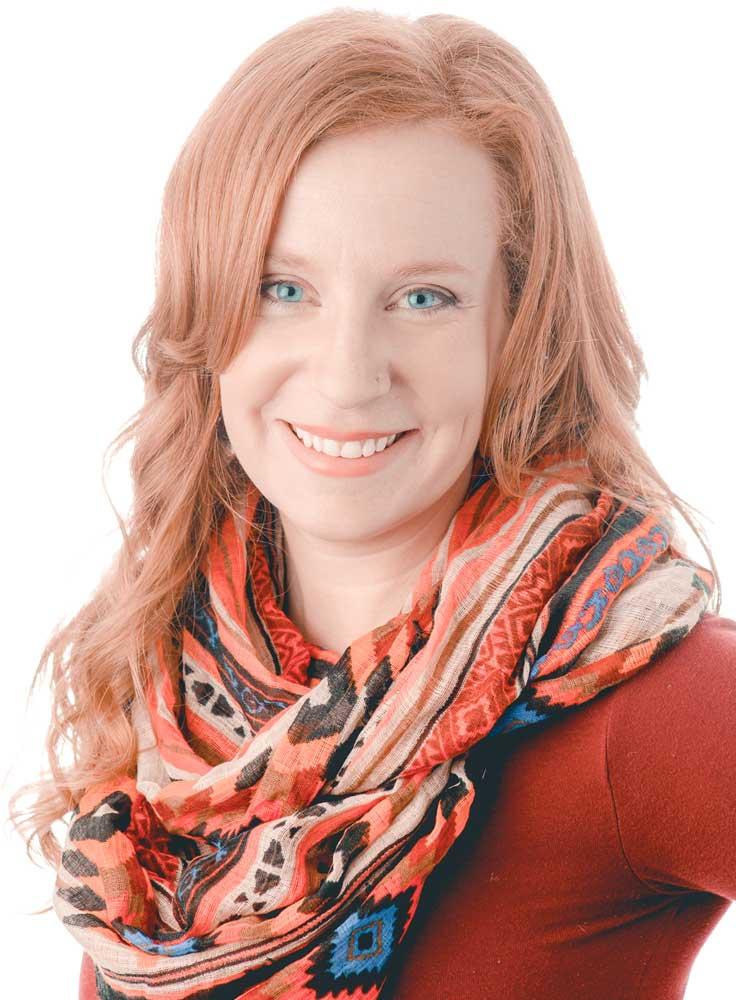 Natalie, owner, lead designer of Tortuga Creative Studio, impactful business owner