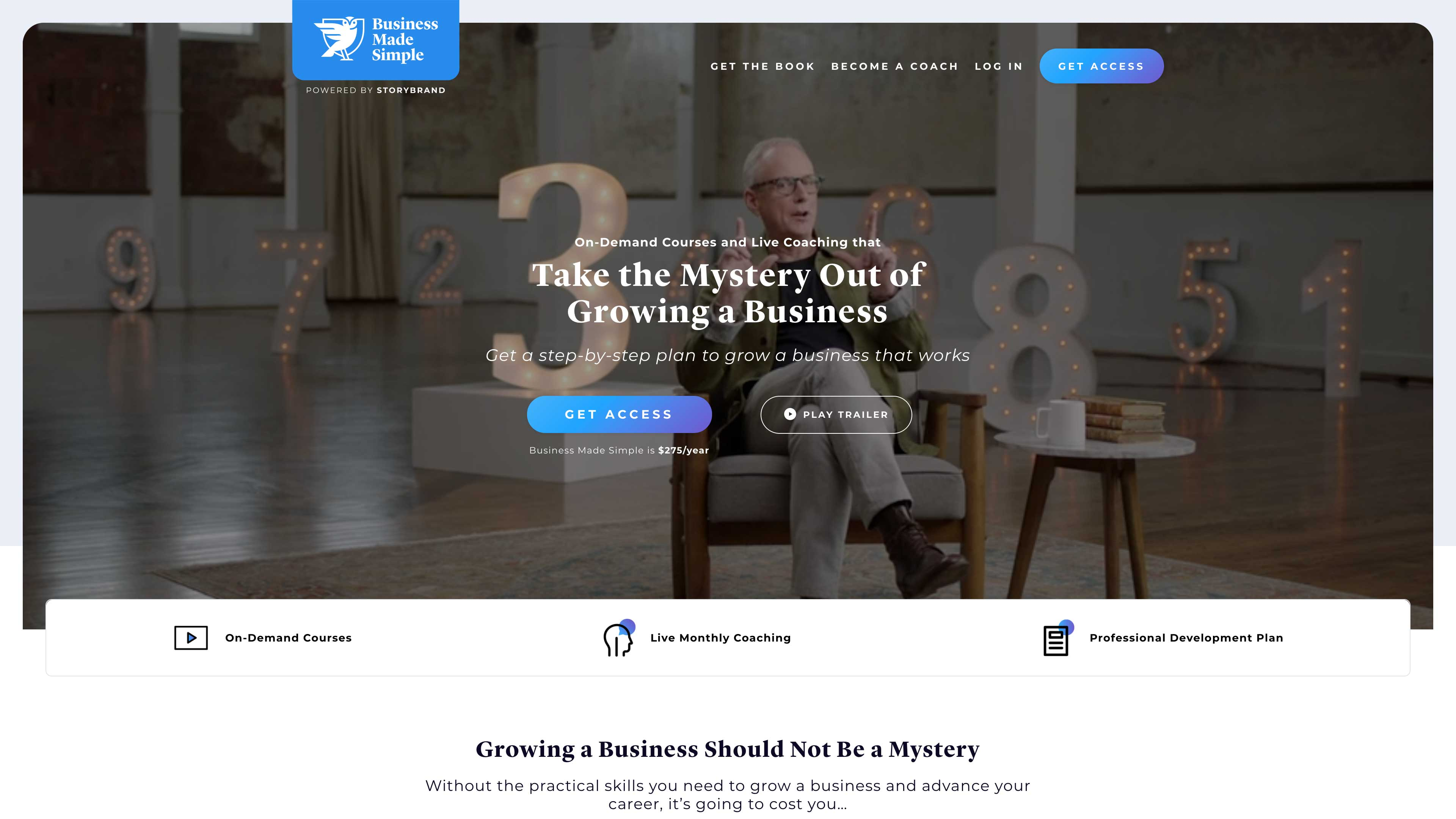 Business Made Simple website.
