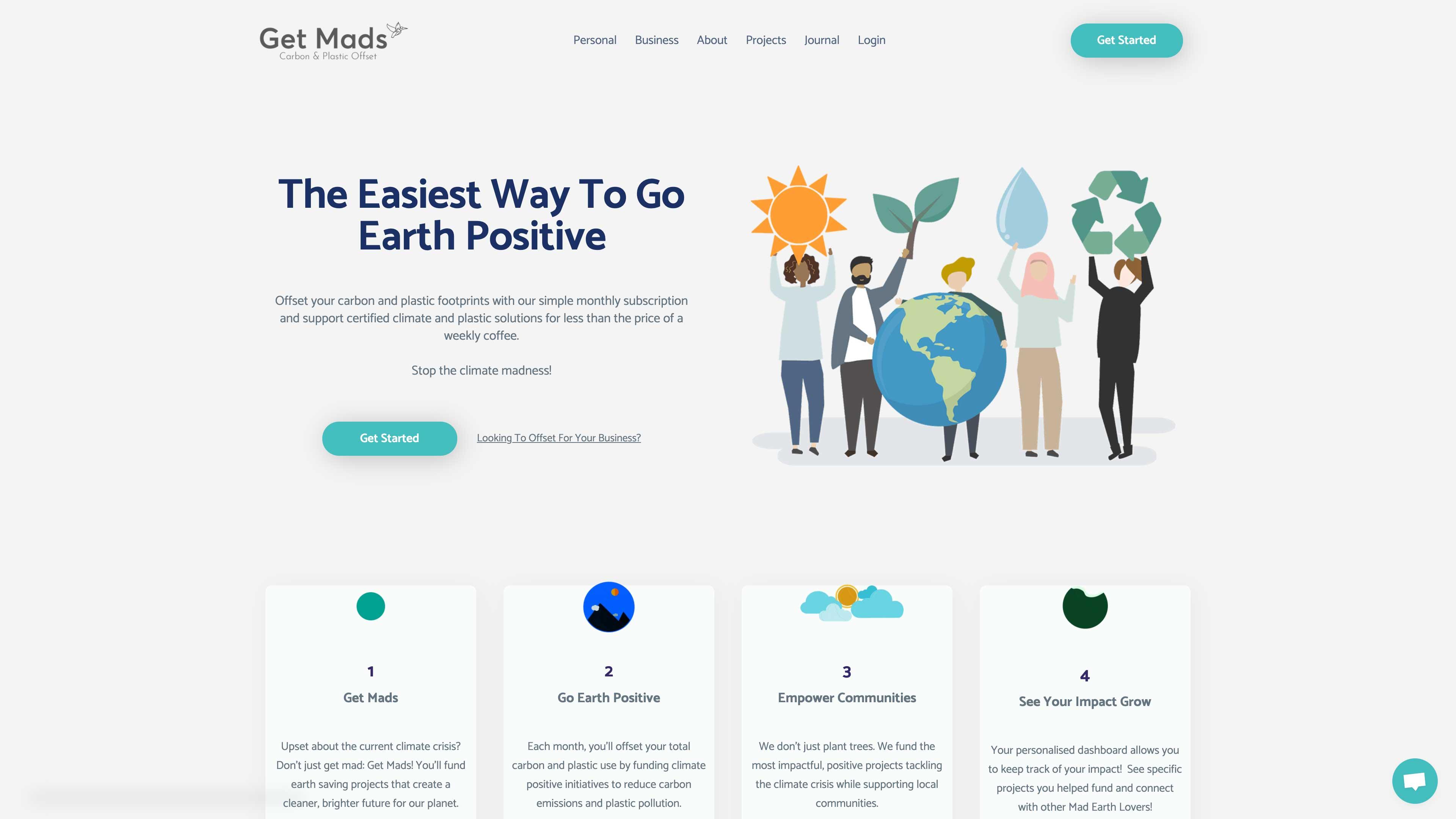 Get Mads website.