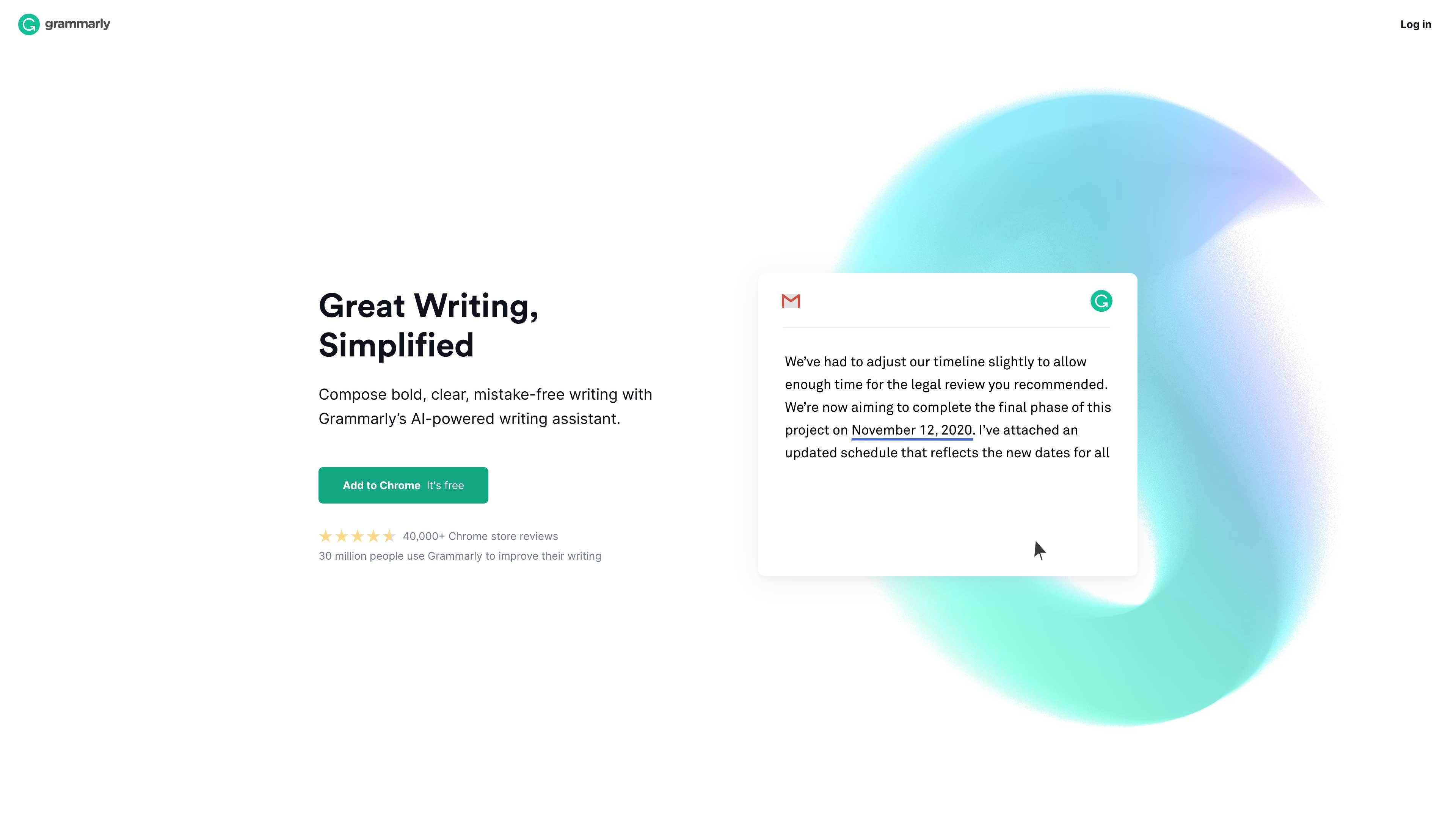 Grammarly website.