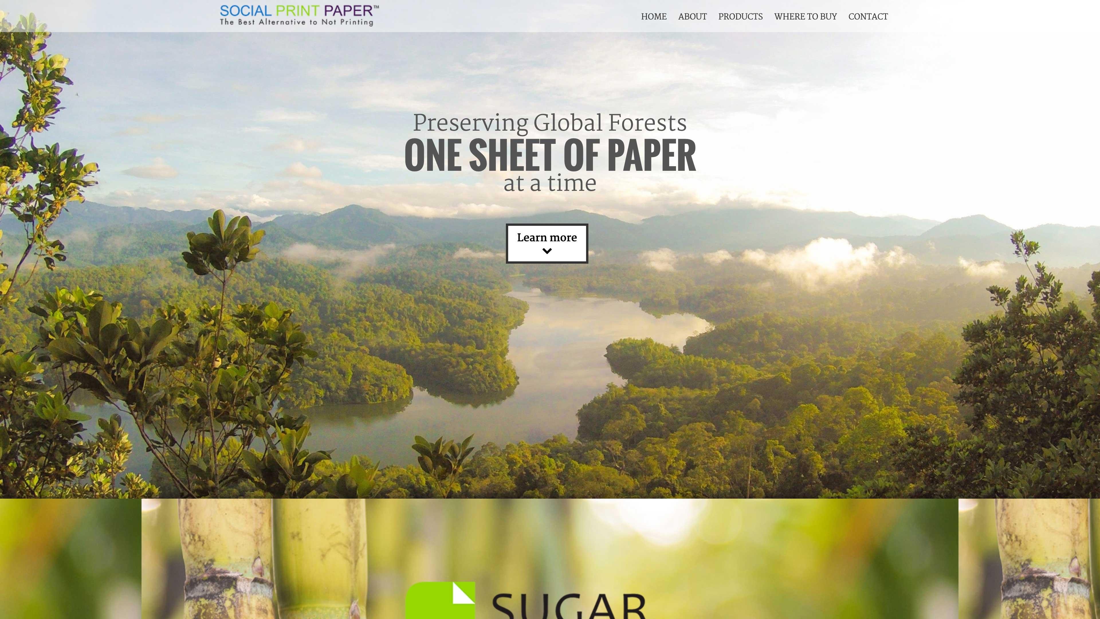 Sugar sheet paper website.