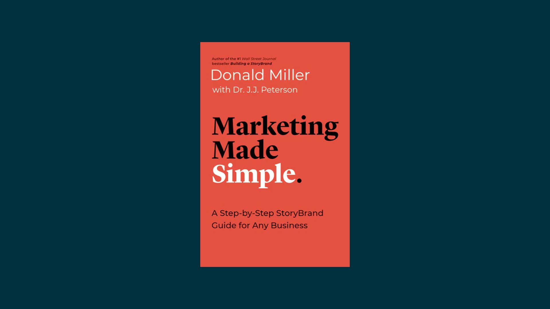Marketing Made Simple book.