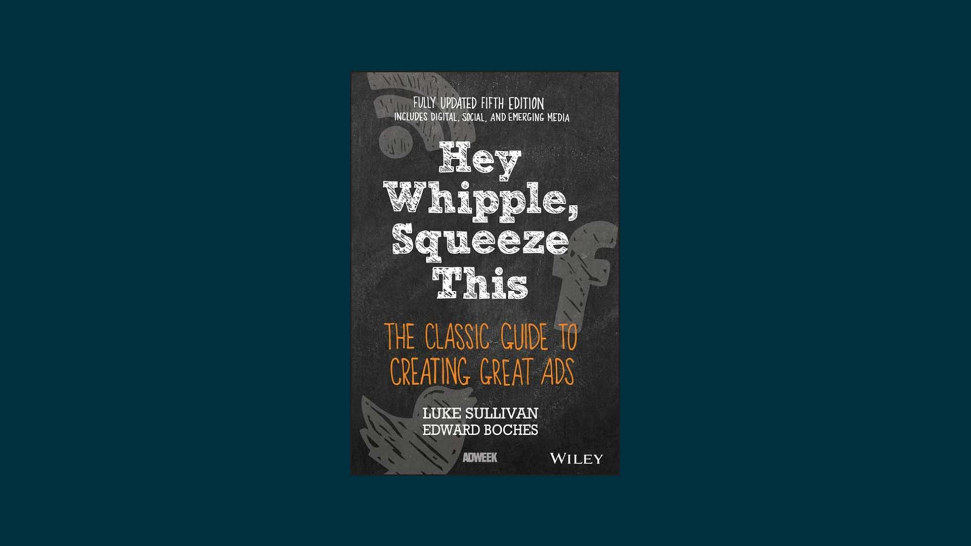 Hey Whipple, Squeeze This book.