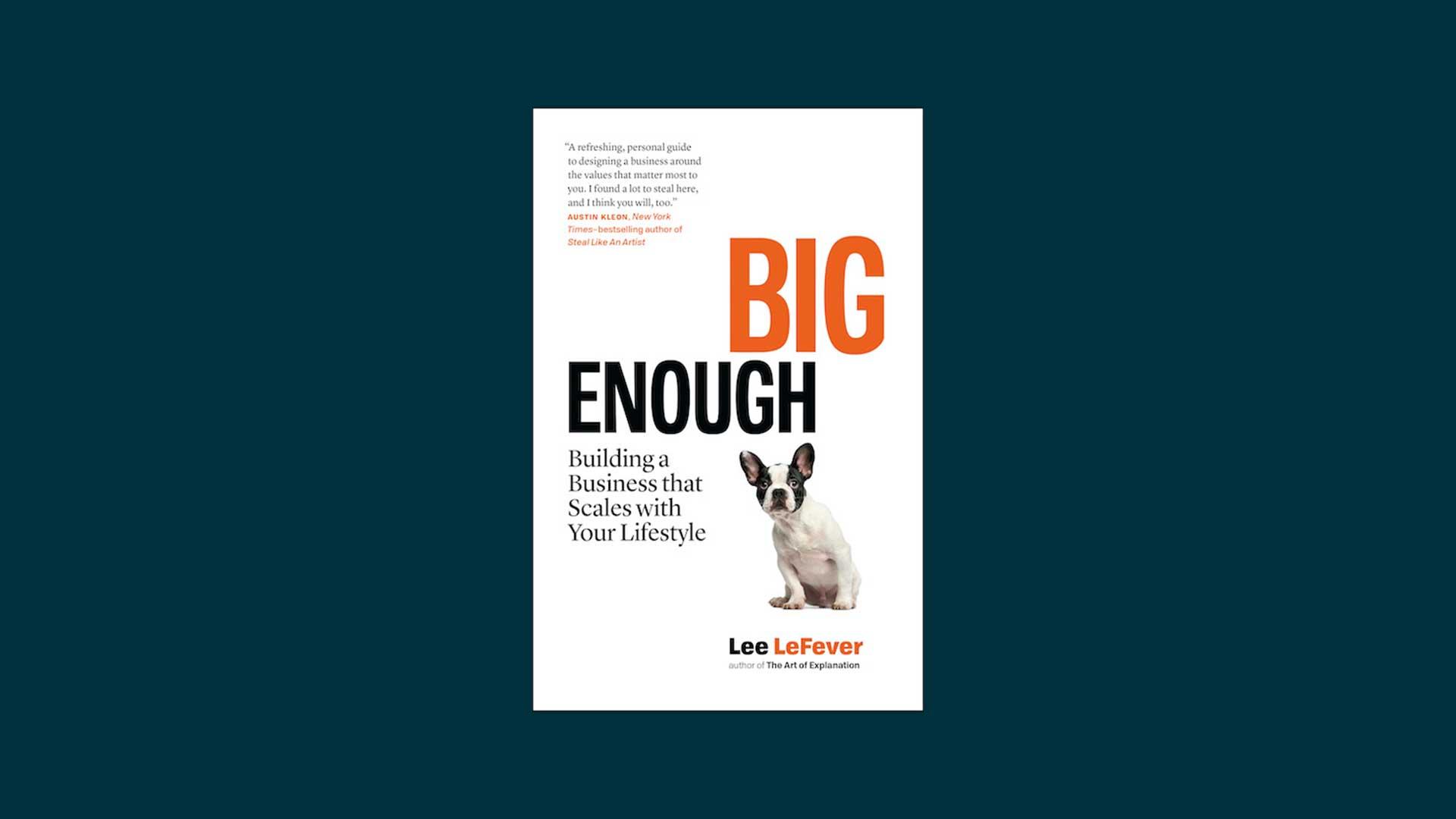 Big Enough book.