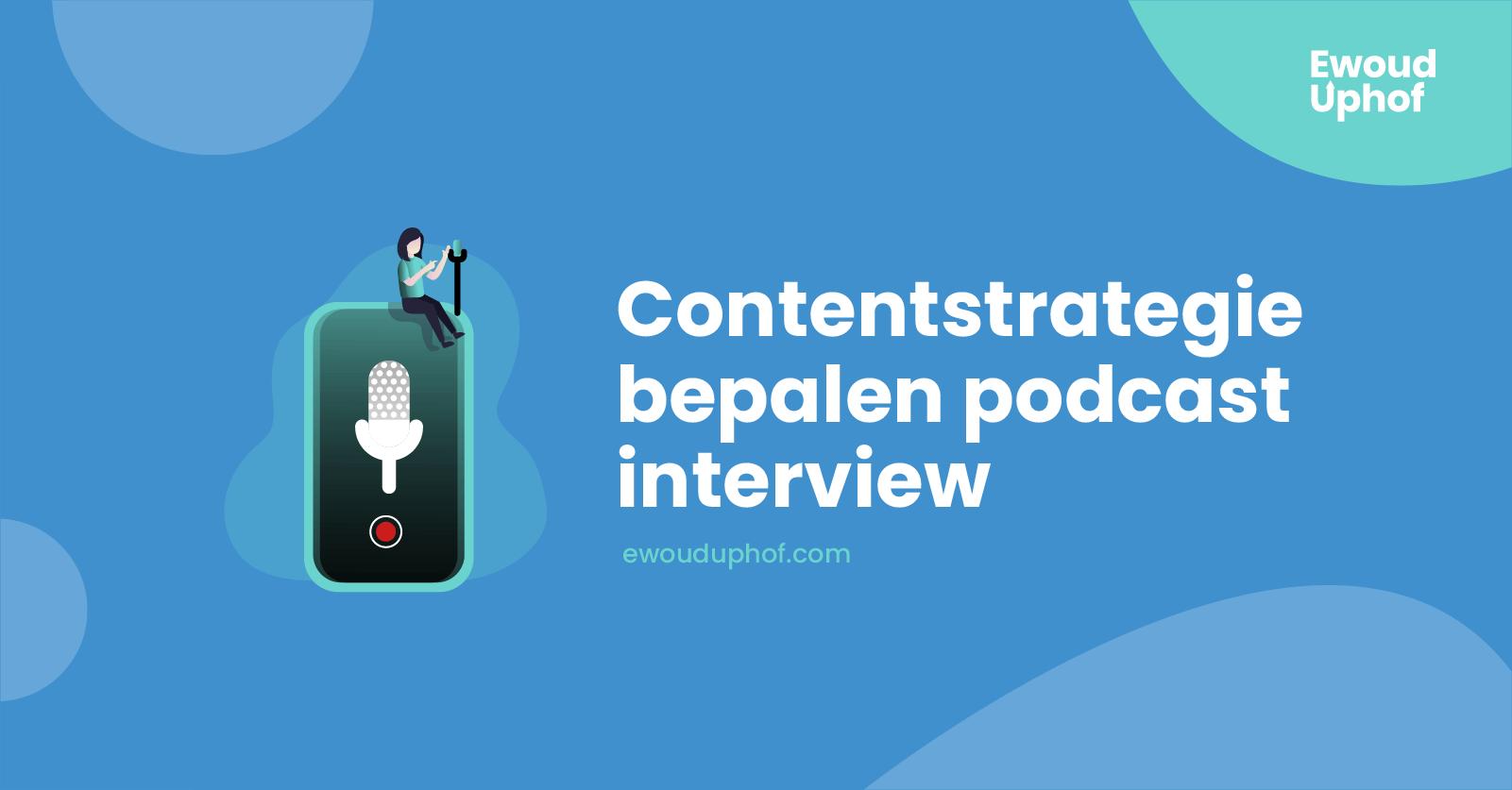 Contentstrategie personal brand
