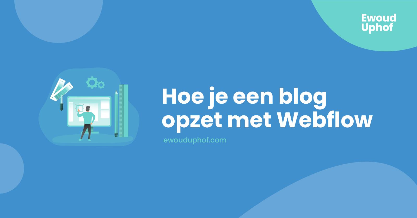 Webflow site bouwen