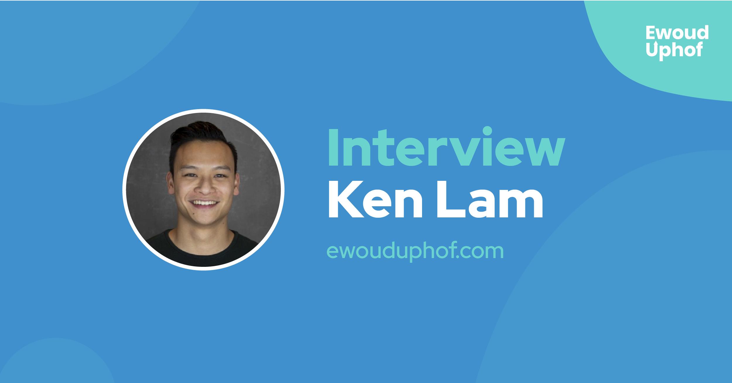 Interview met growth hacker Ken Lam