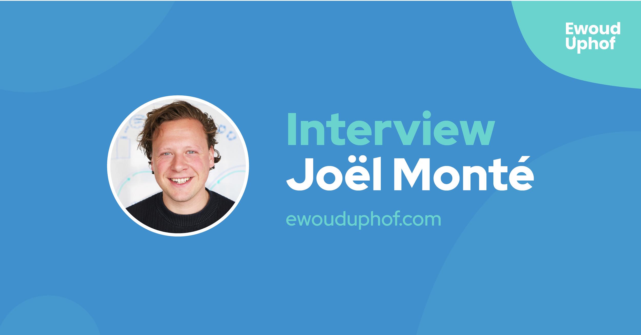Interview met growth hacker Joel Monté