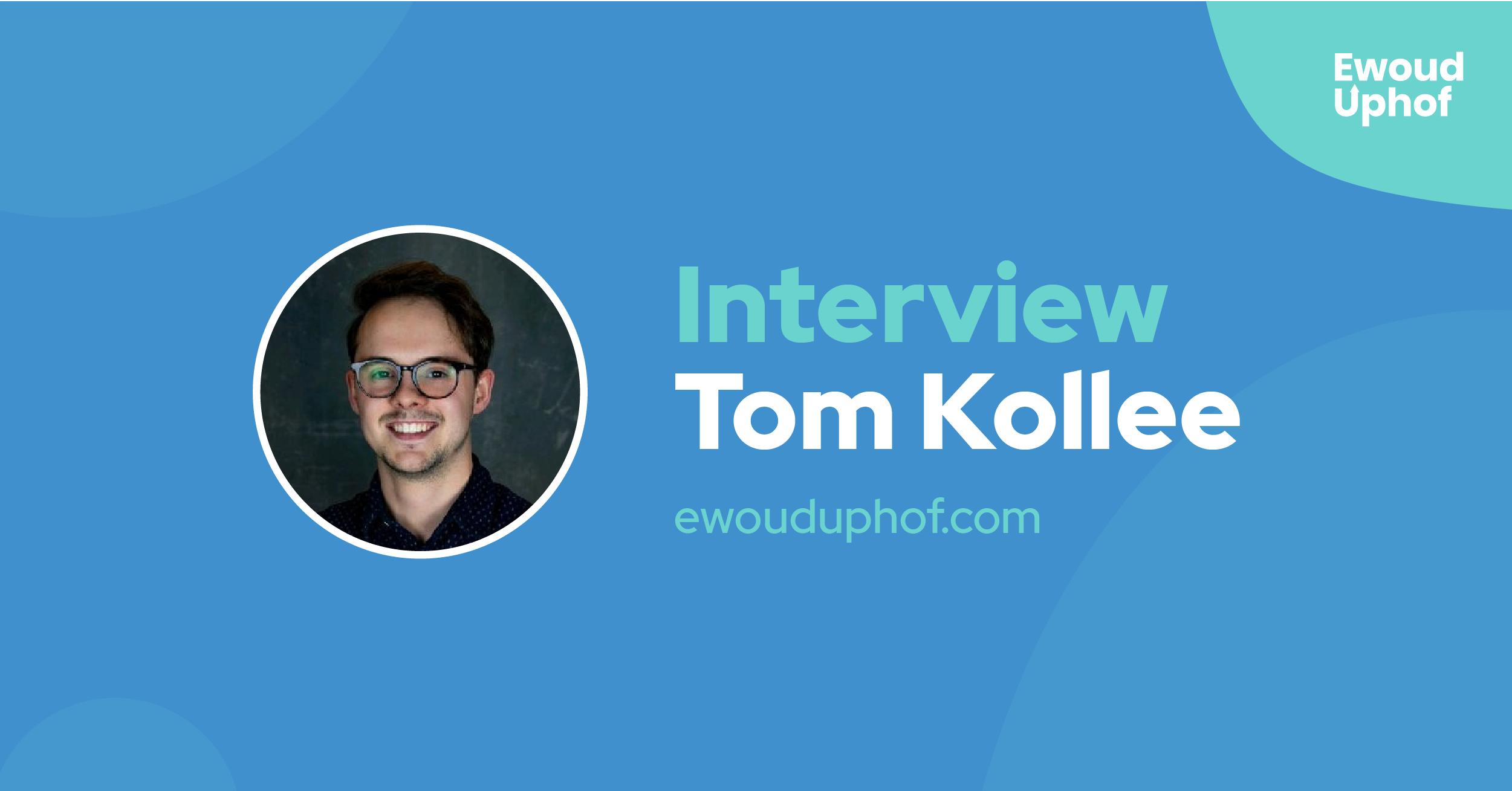 Interview met growth hacker Tom Kollee