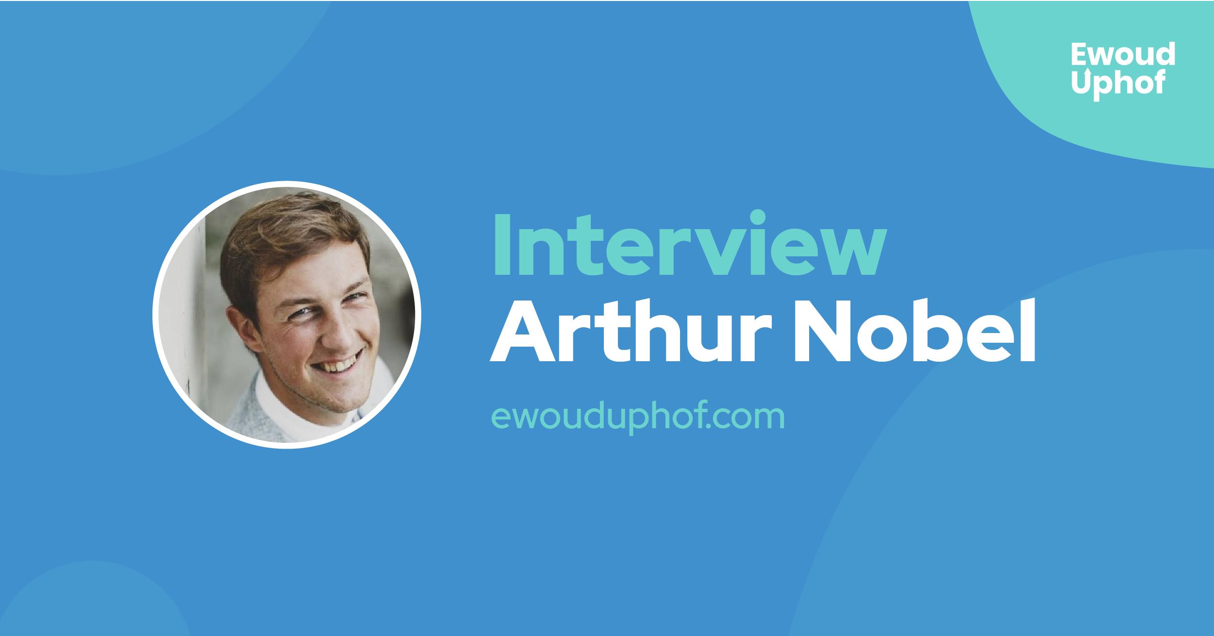 Interview met venture capitalist Arthur Nobel