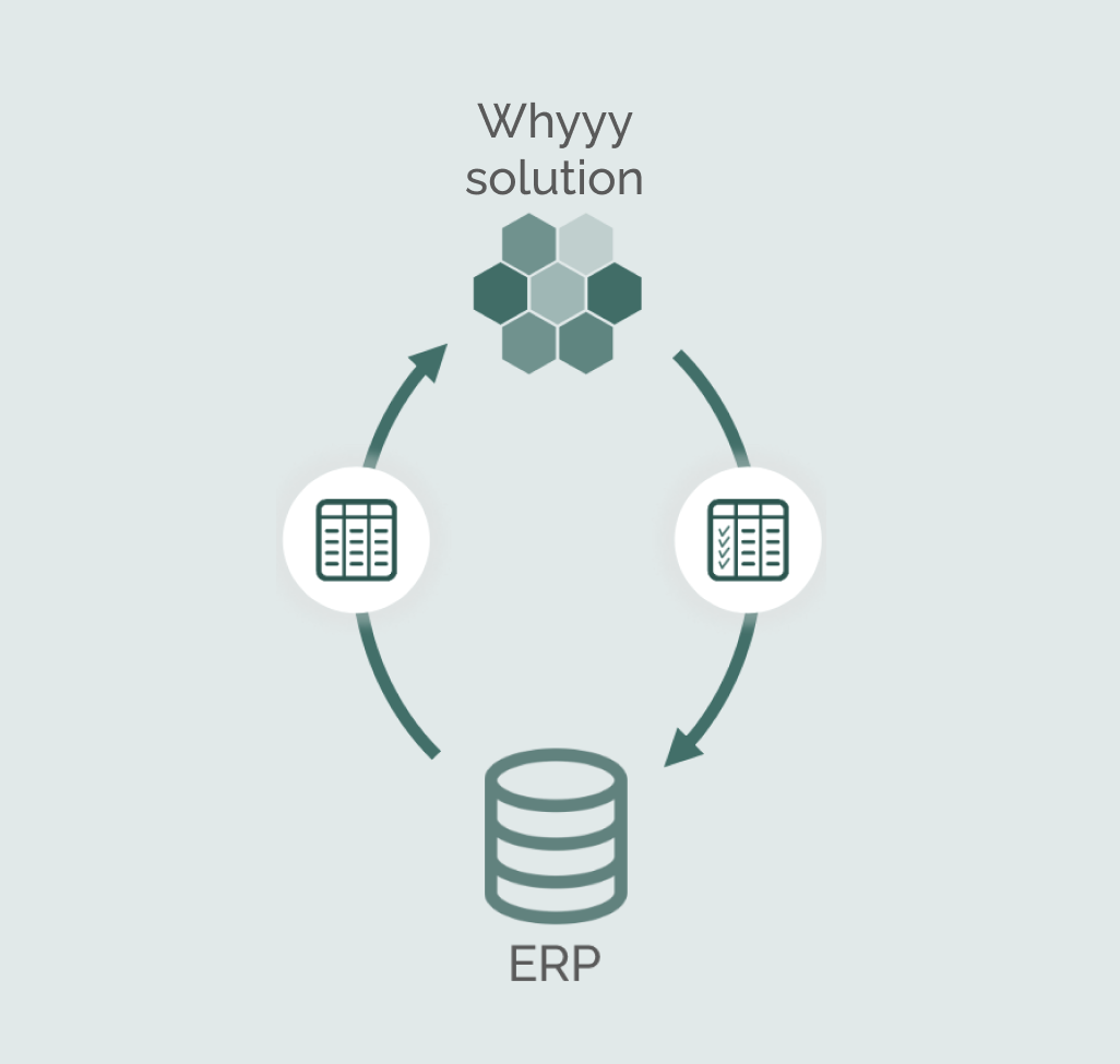 Whyyy solution as dynamic add on to ERP system