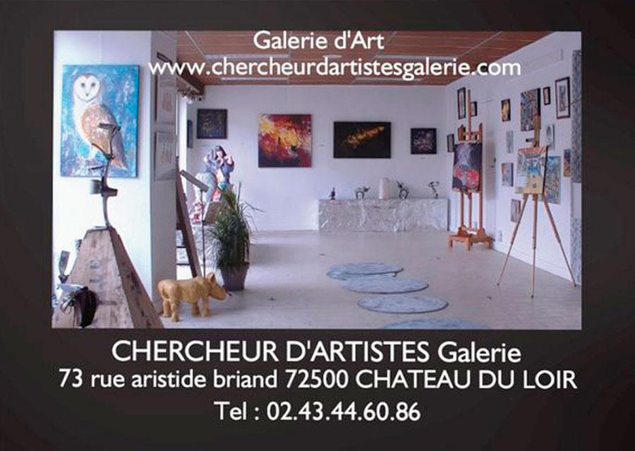 CHERCHEUR d'Artistes Galerie