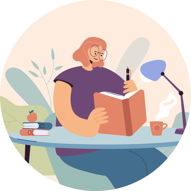 Image Girl Reading