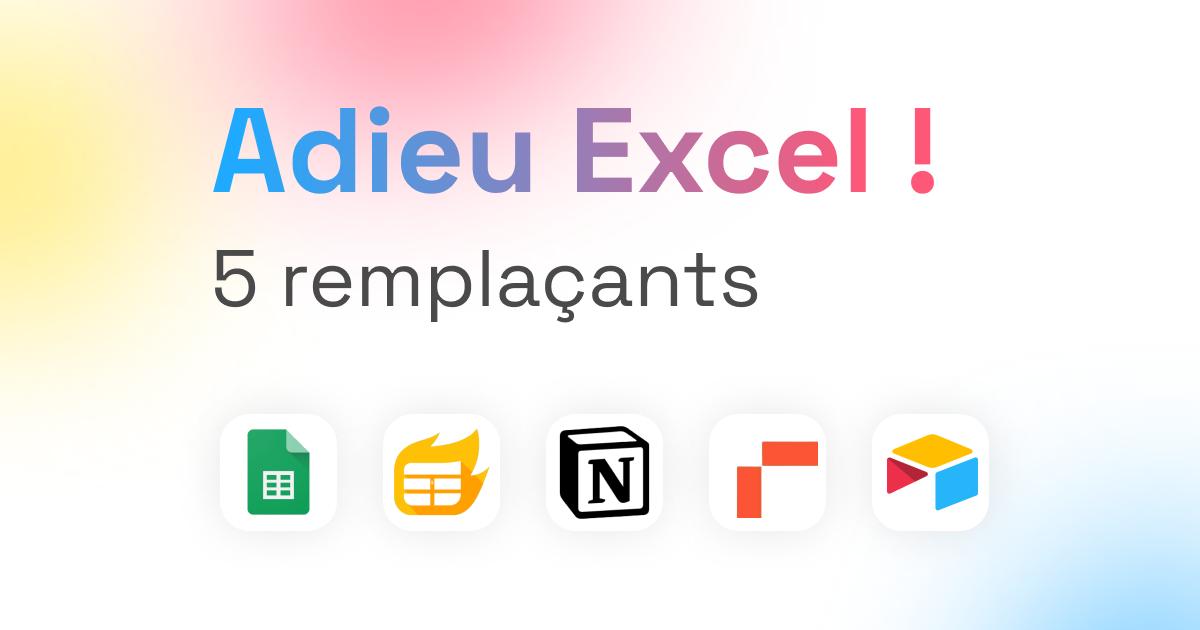 Adieu Excel !
