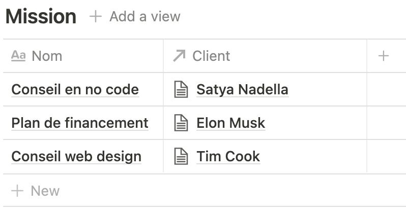 Créer des bases de données relationnelles avec Notion