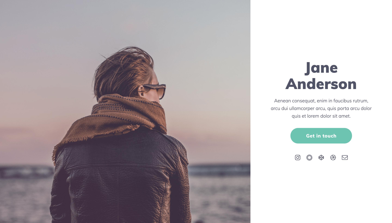 créer un site avec carrd
