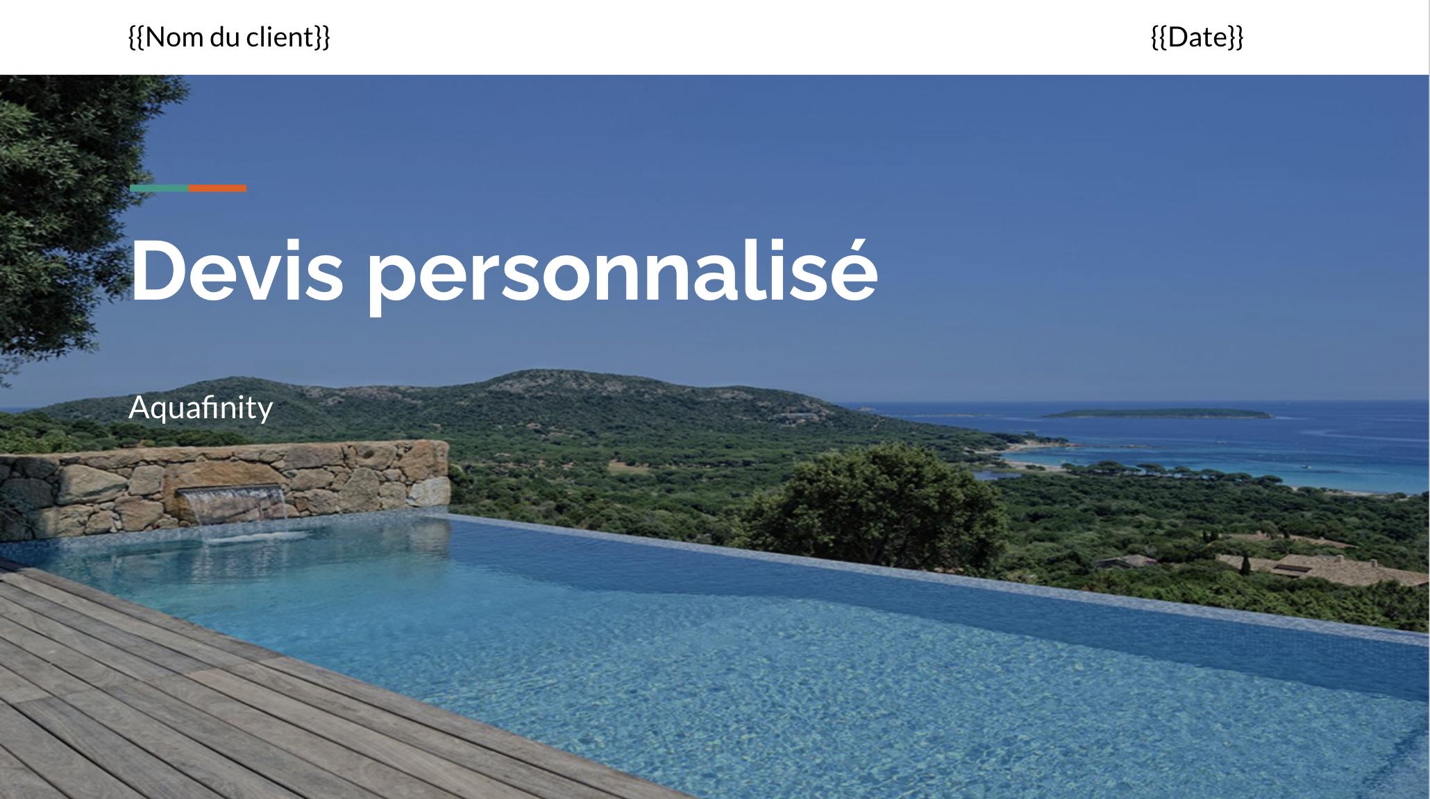 créer une présentation client avec Google Slides
